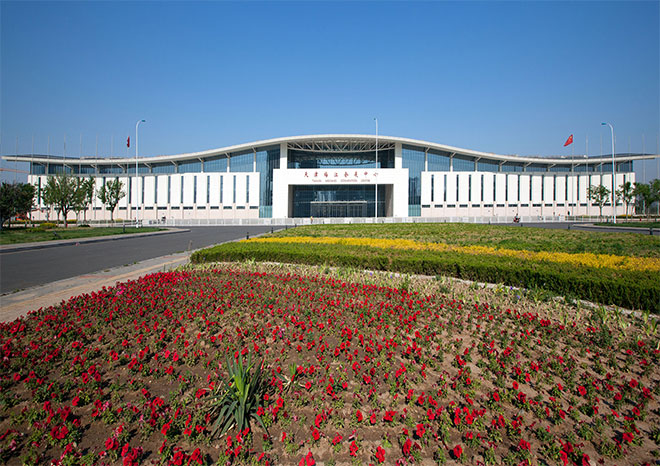 Tianjin meijiang convention and exhibition center - metal roofing project